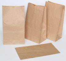 Пакет из крафт бумаги для продуктов питания