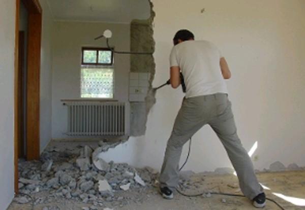Демонтаж стен цена