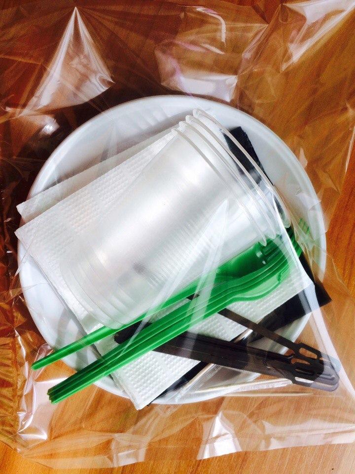 Продажа одноразовой посуды от ЧП Макош-Пак
