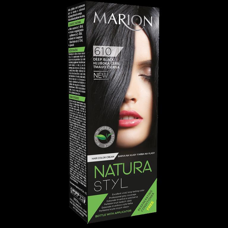Якісна фарба для волосся без аміаку marion