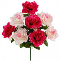 Купить искусственные головки цветов недорого в Харькове