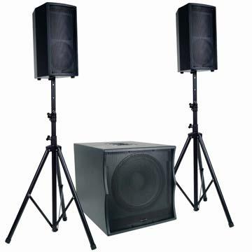 В наявності недорога акустична система