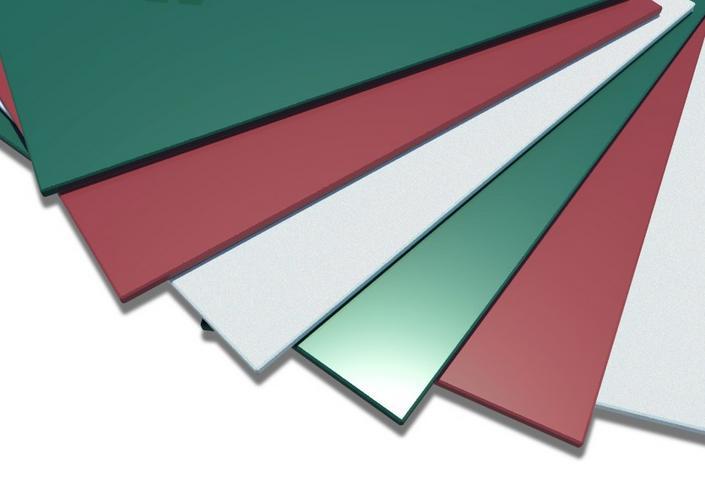 Гладкий лист с полимерным покрытием купить выгодно
