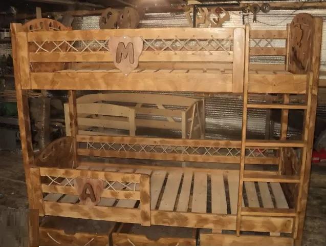 Кровать двухэтажная Маяк
