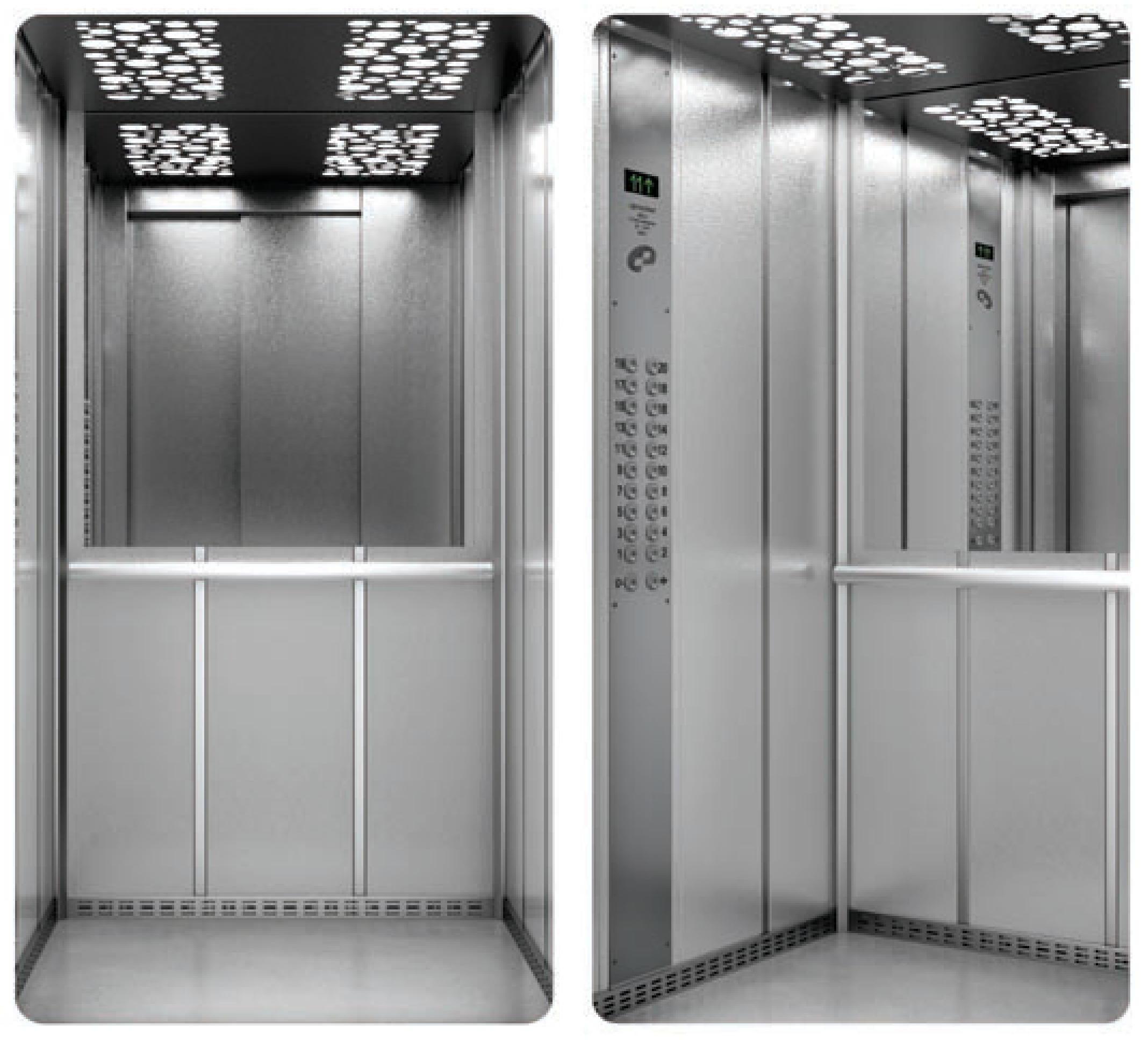Пасажирські ліфти EF та сервісне обслуговування ліфтів