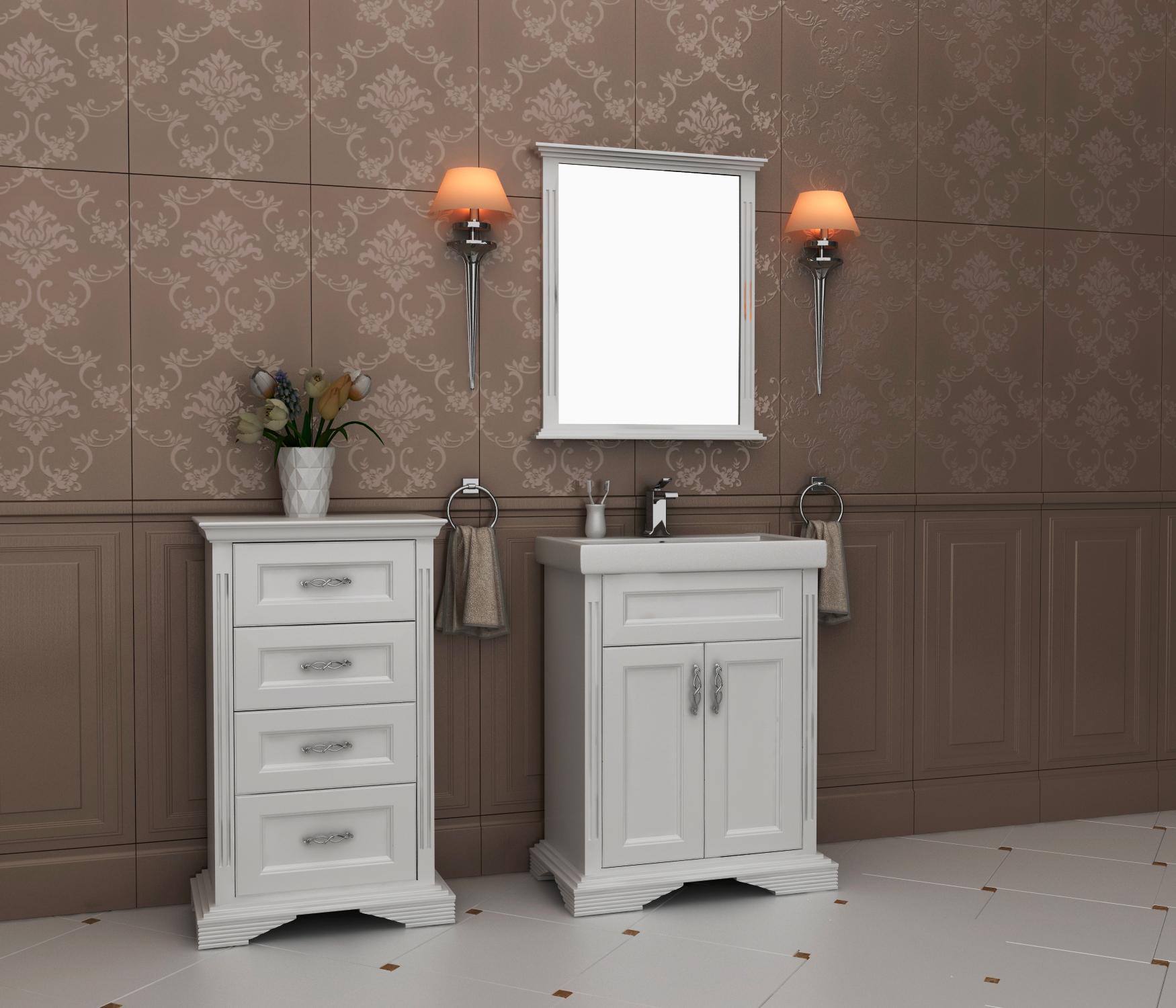 Меблі з масиву для ванної кімнати недорого