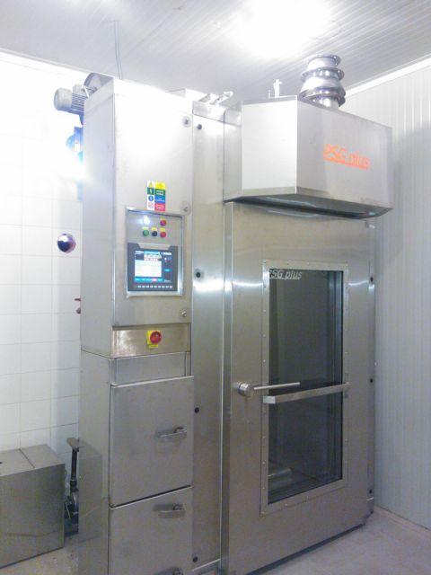 Оборудование для горячего копчения рыбных продуктов