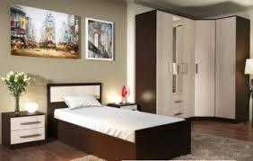 Спальний гарнітур з кутовою шафою