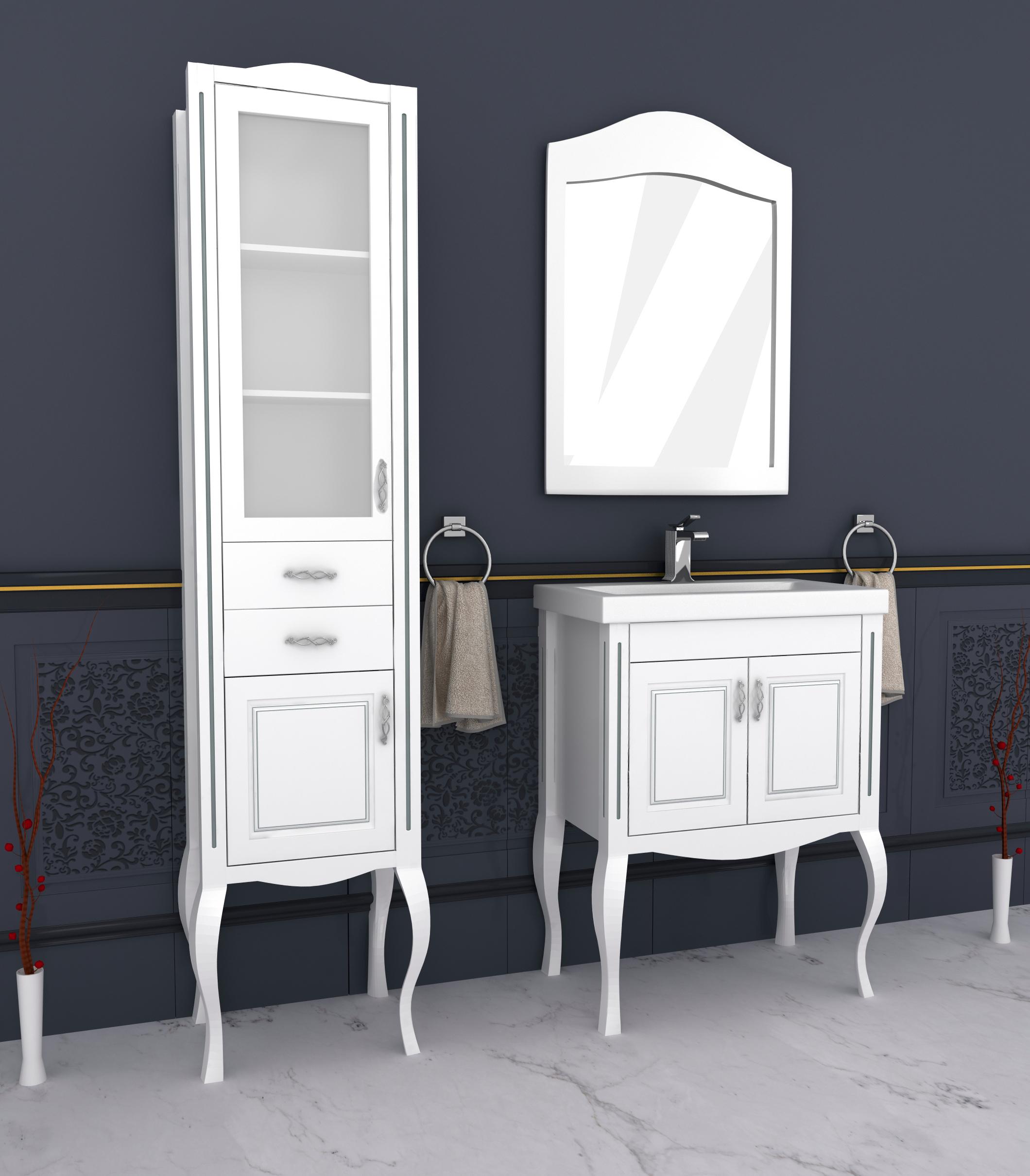Мебель для ванной по индивидуальным размерам можно заказать у нас!