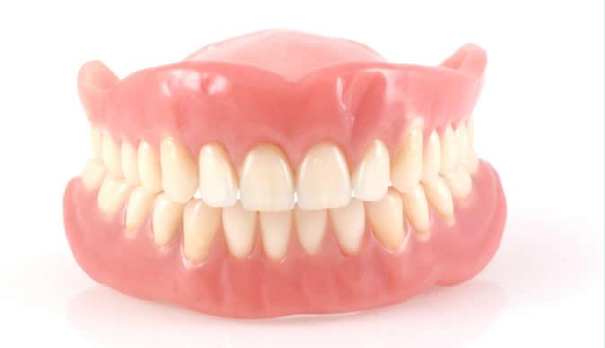 Съемные зубные протезы заказать в Киеве