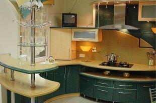 Нестандартні кухонні гарнітури замовити можна у нас!