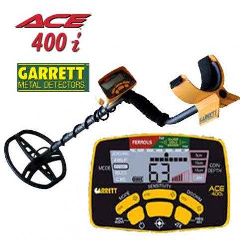 Купити Garrett ACE 400i недорого: в продажу тільки якісні металошукачі!