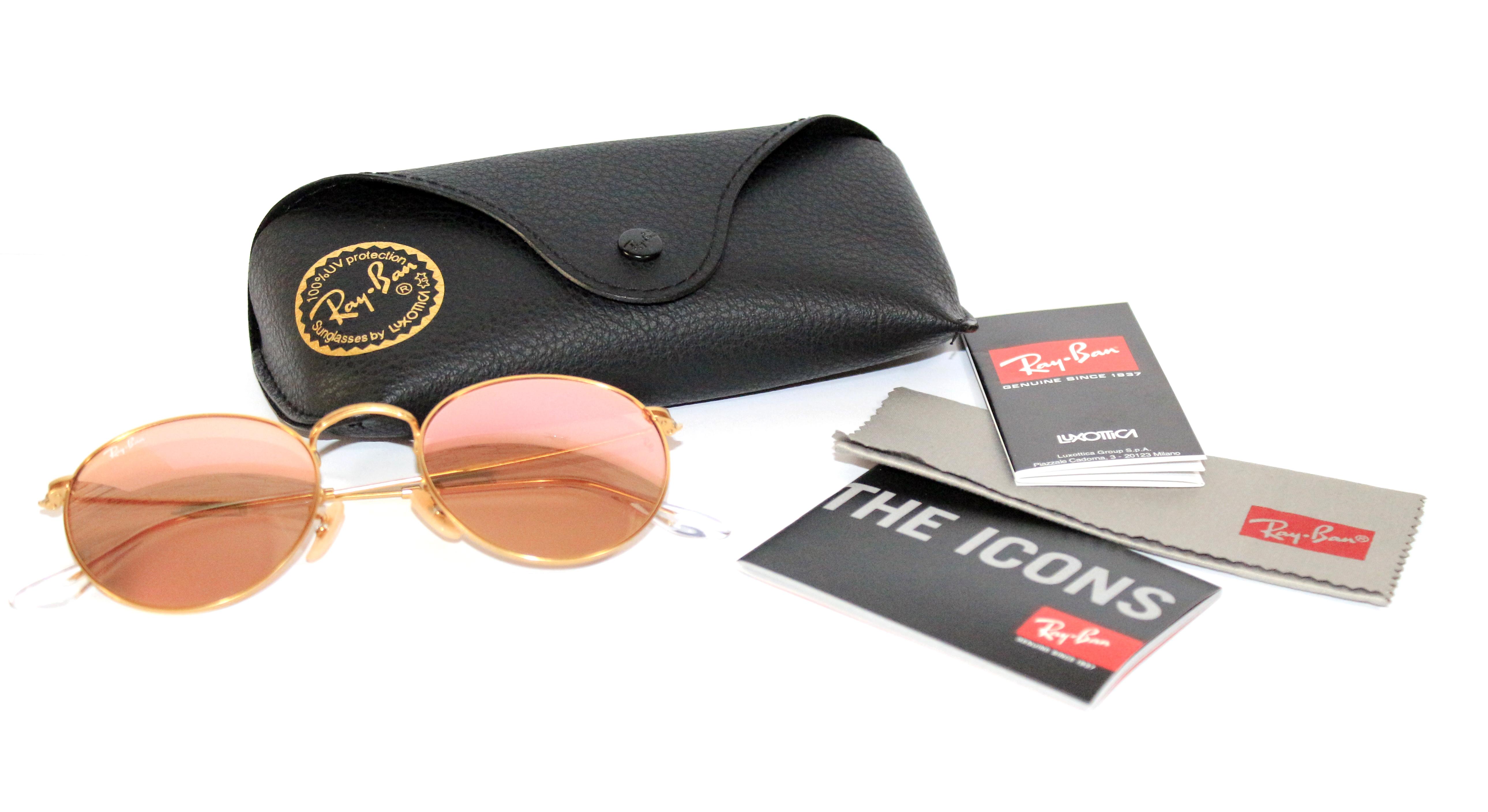 Круглі окуляри Ray Ban в продажі з гарантією d408585f5a30c