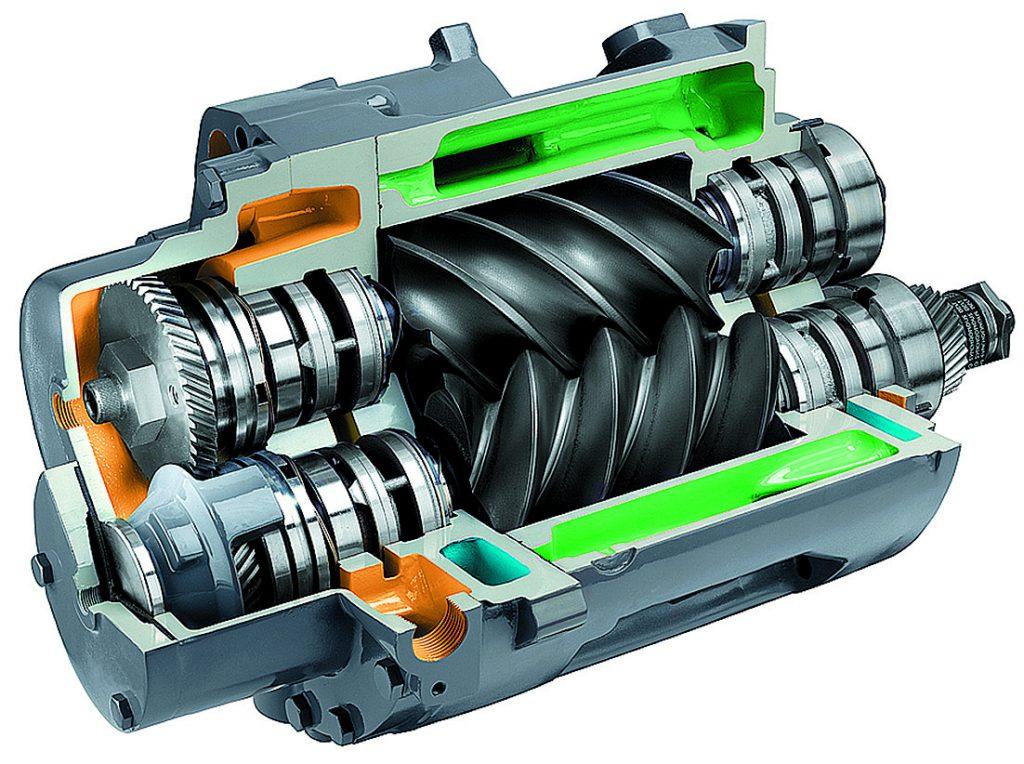 Ремонт винтового компрессорапо доступной цене