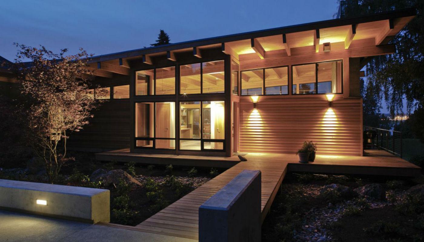 Наружная подсветка зданий по доступной цене