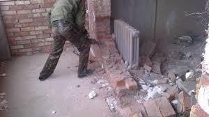 Демонтаж квартири, стін, перегородок недорого Луцьк