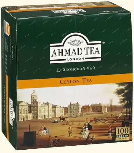 Чай ahmad tea купить у Чафейко