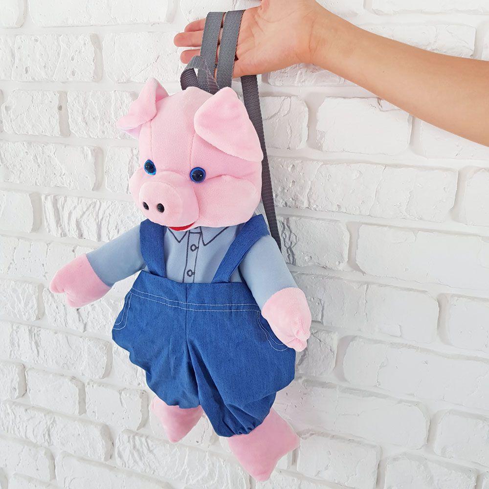 Детский плюшевый рюкзак купить Киев