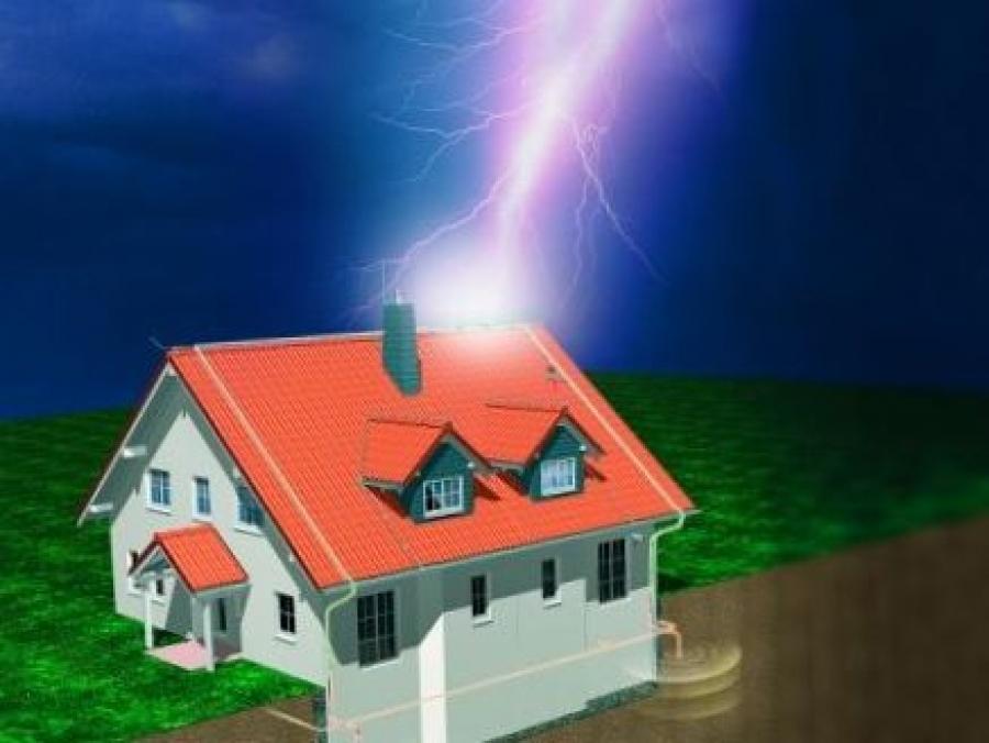 Молниезащита индивидуальных и дачных домов