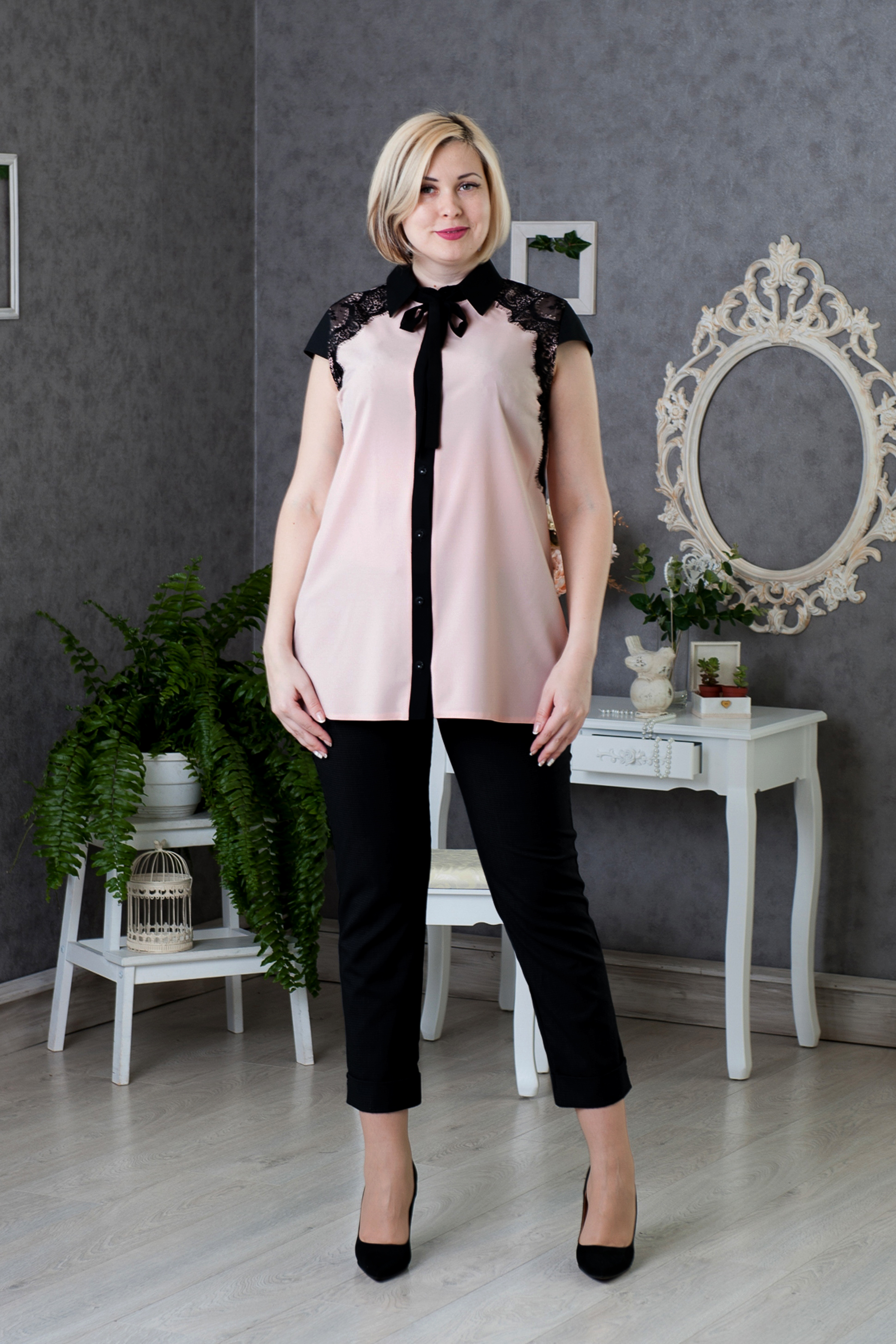 1a54f5d5996 Нарядные блузки для полных женщин