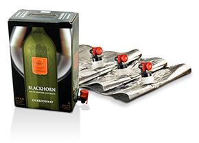 Упаковка бэг ин бокс для вина заказать
