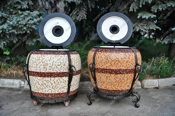 Тандир з шамотної глини для дачі та ресторану
