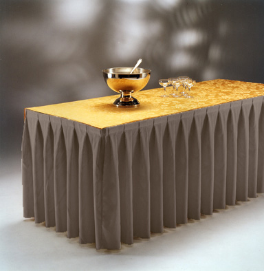 Фуршетные юбки - украшение праздничного стола