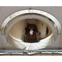 Купольне панорамне дзеркало - вигідне рішення для вас