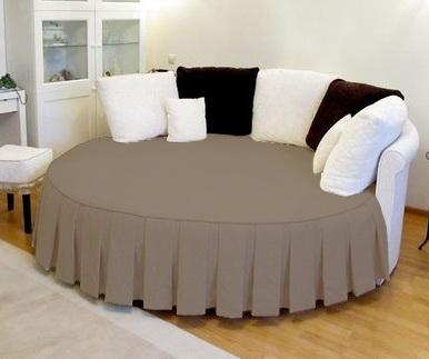 Покривало на ліжко з оборками замовити