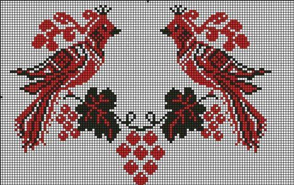 Красиві схеми вишивки хрестиком продаються у магазині Мереживо