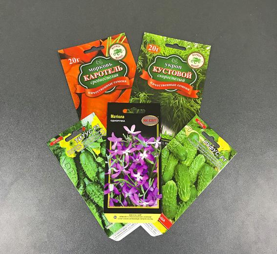 Виготовлення міцних упаковок для насіння у Черкасах