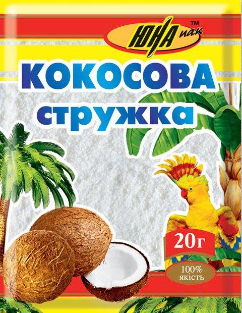 Кокосова стружка ціна найвигідніша у нас