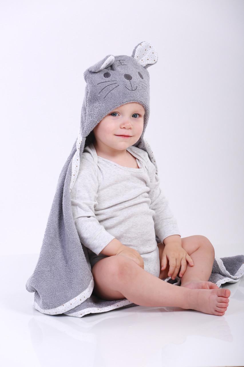 Полотенце с капюшоном для новорожденных можно купить у нас!