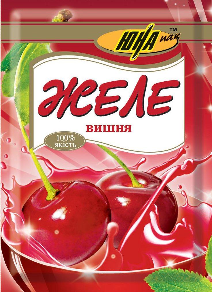 Желе фруктовое оптом со вкусом вишни