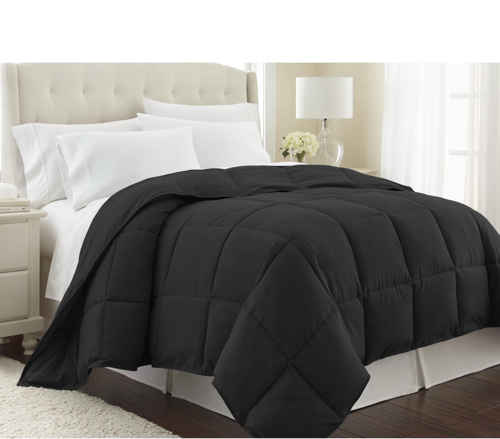 Черное покрывало на кровать купить