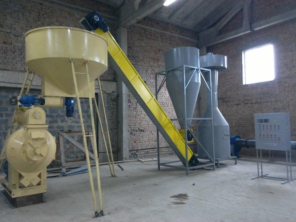 Оборудование для производства древесных гранул купить