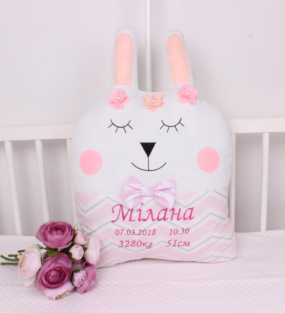 Іменні бортики подушки купити в інтернет-магазині Мірамель
