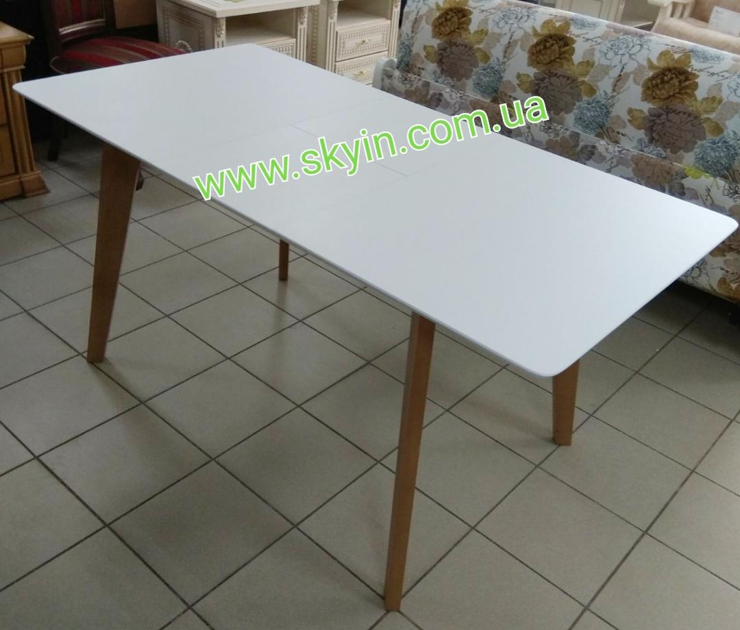 Деревянный раскладной стол Милан