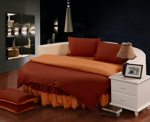Круглое постельное белье в ассортименте