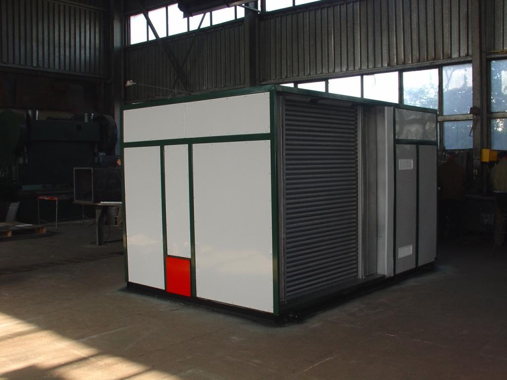 Газові теплогенератори для повітряного опалення купити в Києві