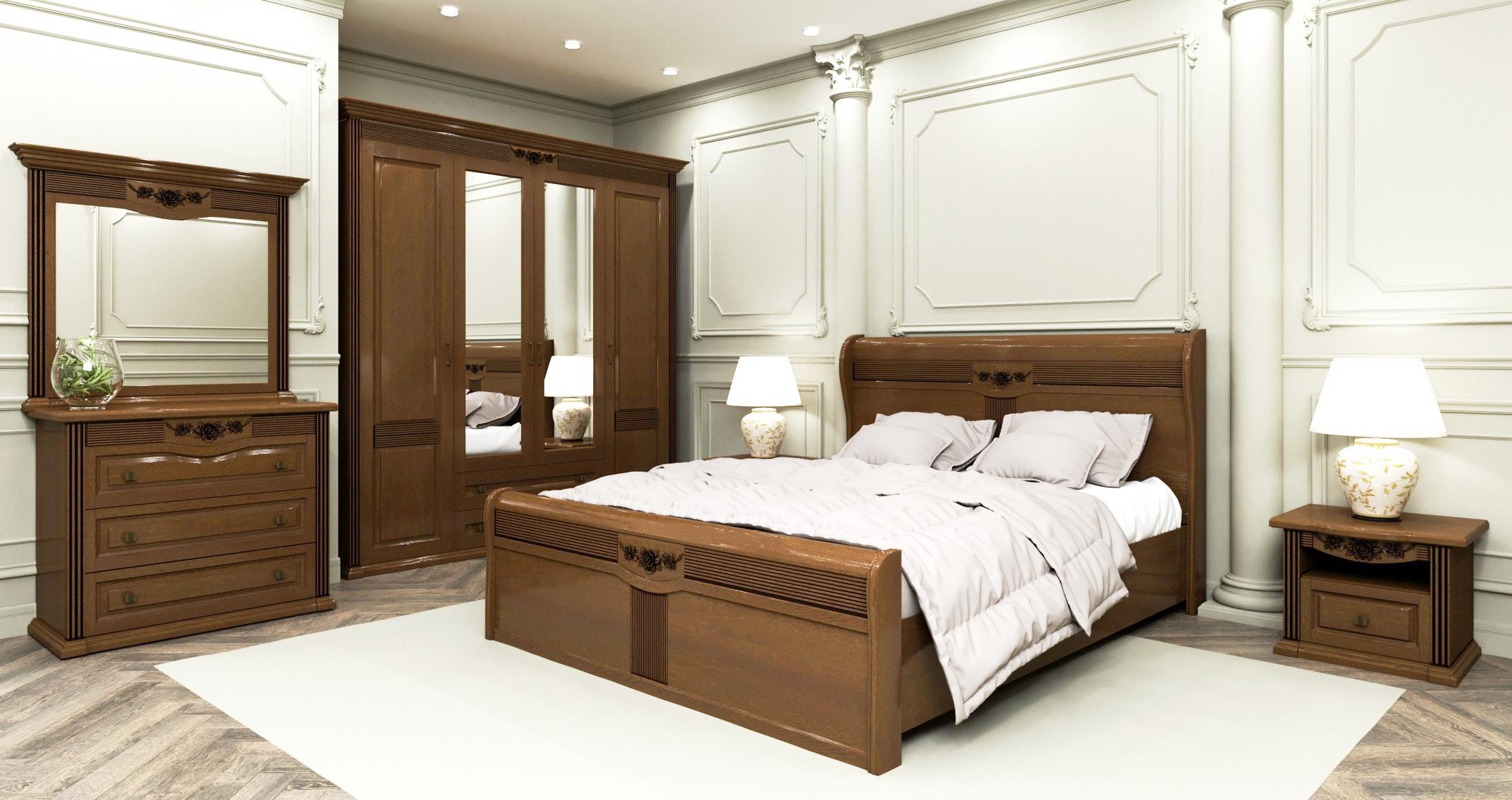 Дубовая мебель для спальни покупайте у нас!