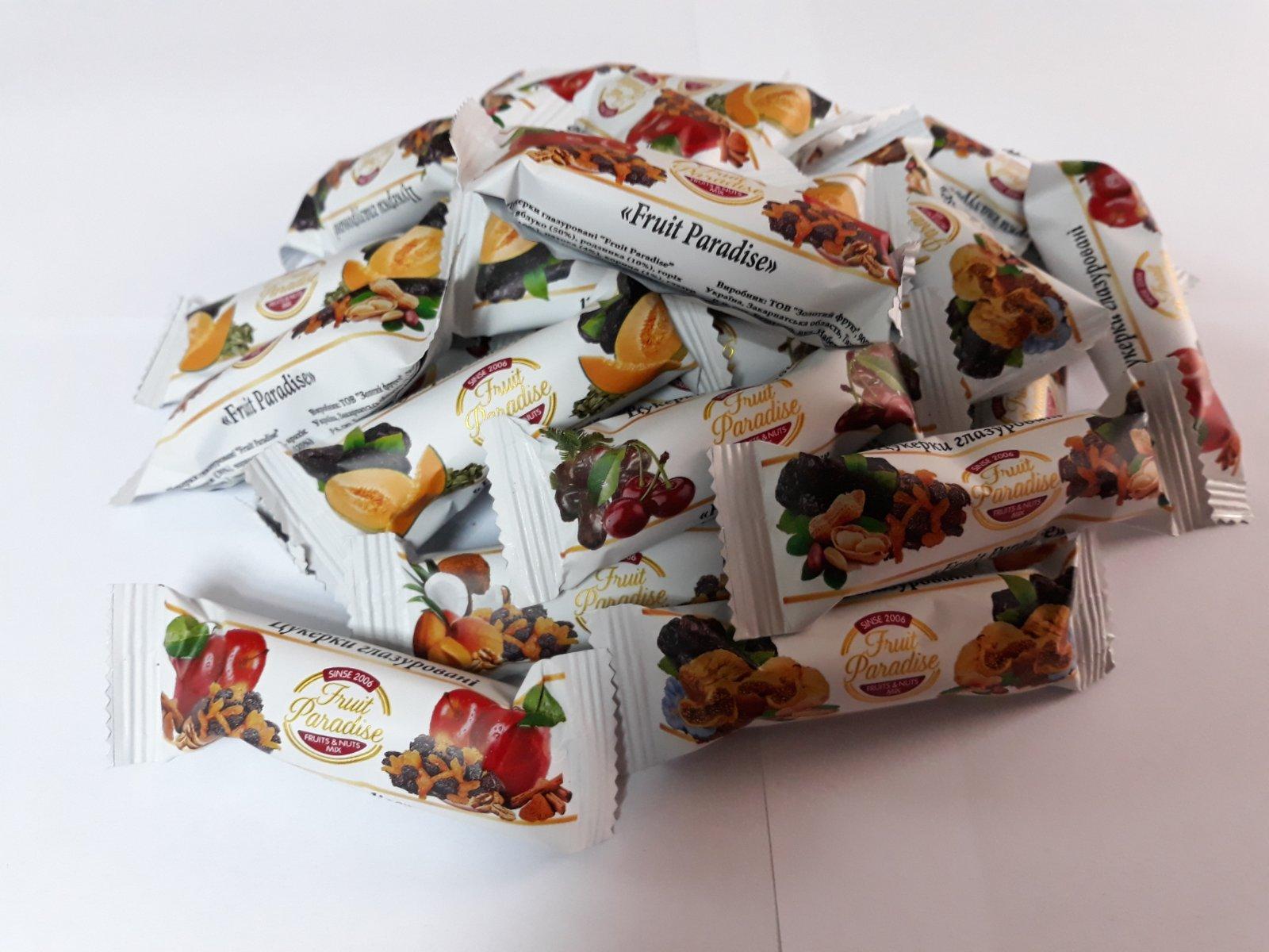 У продажі мікс глазурованих натуральних цукерок