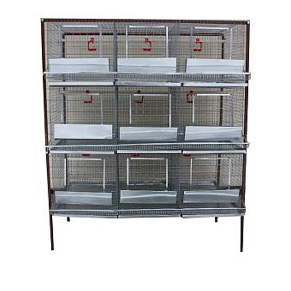 Рекомендуємо купити клітки для курей, які виготовлені лише з якісних матеріалів!