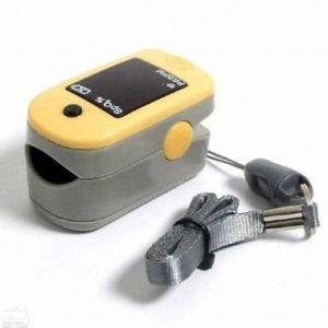 Пульсоксиметр напалечний - виміри  насичення киснем гемоглобіну крові в найкоротші терміни