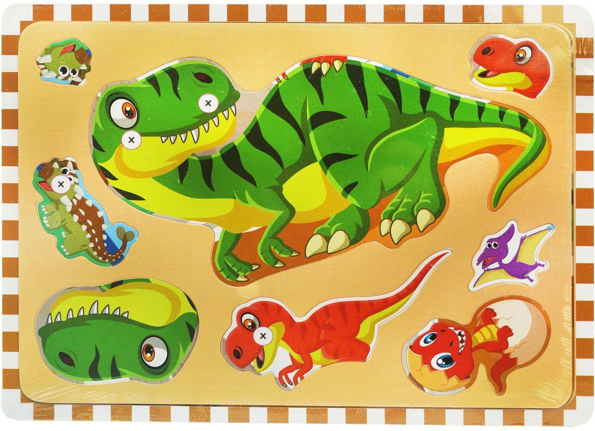 Пазл Динозавр для детей от трех лет покупайте у нас!