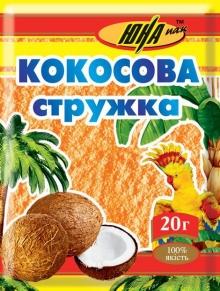 Кокосова стружка ціна на яку вас приємно здивує наявна в інтернет-магазині ТМ Юна Пак.