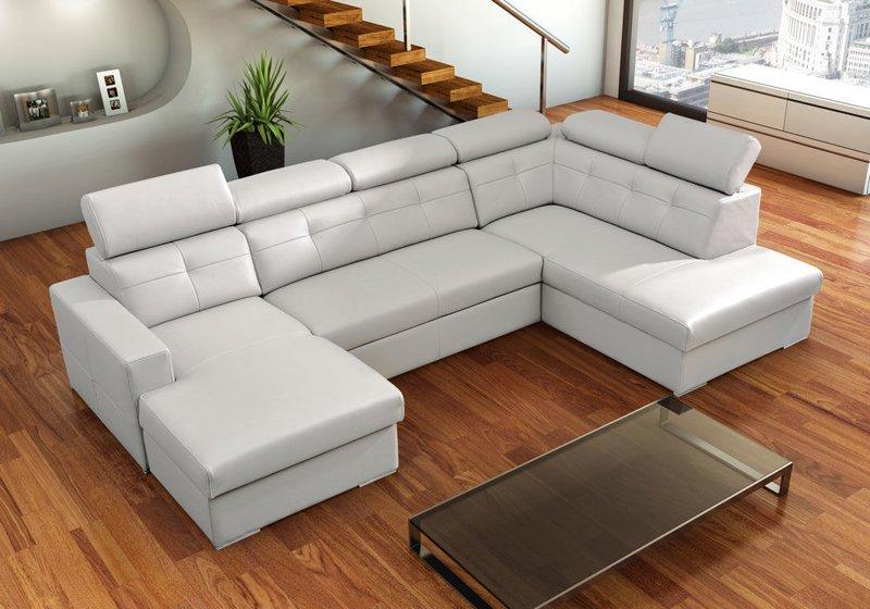 Замовляйте кутовий шкіряний диван недорого в ательє м'яких меблів Valaga!