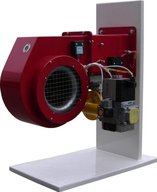 Пропонуємо газові блочні пальники промислові