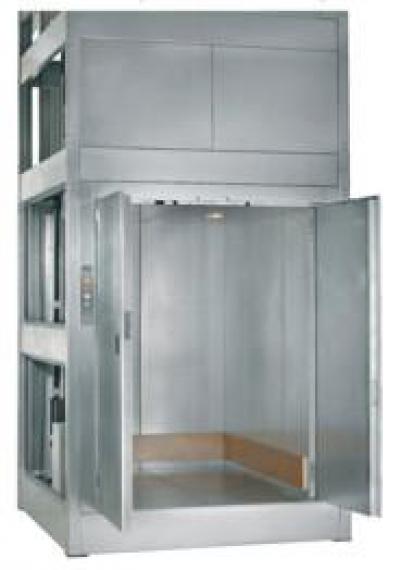 В продаже малые грузовые лифты