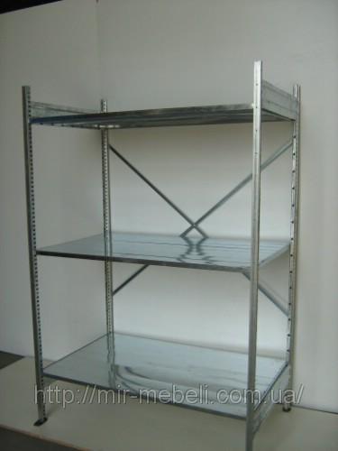 Стелажі поличні металеві доступні за оптимальною ціною